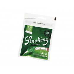 Filtros Menthol 6 mm. Smoking
