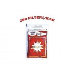Filtros Sunray 200 6 mm.